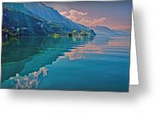 Shore Reflection Greeting Card