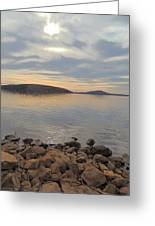 Shoreline At King's Mountain Point Greeting Card