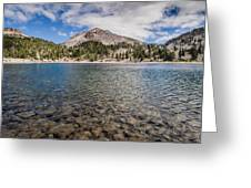Shores Of Helen Lake Greeting Card