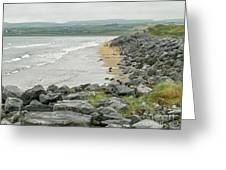 Shores Of Ireland Greeting Card