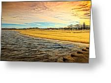 Shores Of Lake Michigan Greeting Card