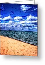 Shores Of Lake Superior Greeting Card