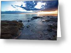 Shorncliffe Foreshore  Greeting Card