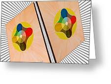 Shots Shifted - Le Soleil 4 Greeting Card
