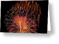 Shower Of Fireworks Greeting Card