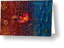 Showers To Flowers Greeting Card