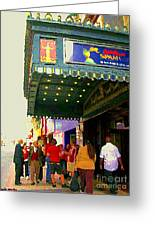Showtime Toronto's Broadway Monty Python Spamalot Theatre District The Plays The Thing City Scenes Greeting Card