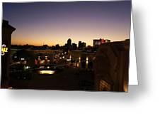 Shreveport Skyline Greeting Card
