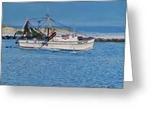 Shrimpboat Carol Lynn Greeting Card