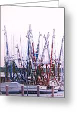 Shrimpers On The Shem Greeting Card