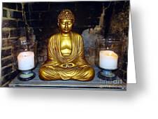 Shrine Of Peace Greeting Card