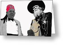 Shriner And Tombstone Slim Tombstone Arizona  Greeting Card