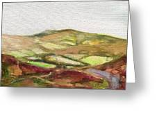 Shropshire Hills 3 Greeting Card