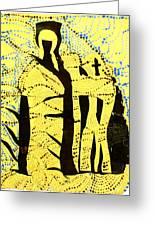 Shroud Of Jesus Greeting Card