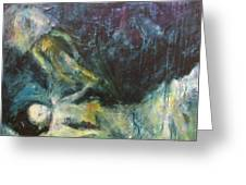 Shrouded In Brokenness Greeting Card