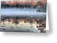 Shrouded  Greeting Card by JC Findley