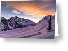 Shuksan Morning Skies Greeting Card