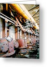 Shutdown Old Coking Plant Greeting Card