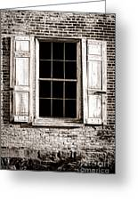 Shutters Greeting Card by Olivier Le Queinec