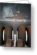 Shuttle Tires Greeting Card