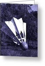 Shuttlecock Blues Greeting Card
