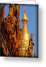 Shwe Dagon Pagoda Greeting Card