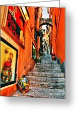 Sicilian Steps Greeting Card