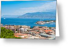 Sicily And Italy Greeting Card