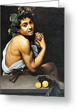 Sick Bacchus  Greeting Card