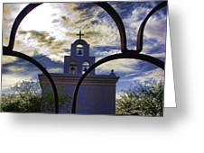 Side Chapel Greeting Card