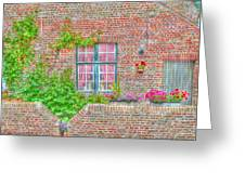 Side Garden Greeting Card