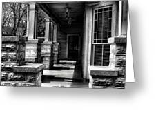 Side Porch Greeting Card