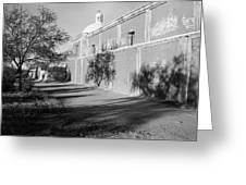 Side View Mission San Jose De Tumacacori Tumacacori Arizona 1979 Greeting Card