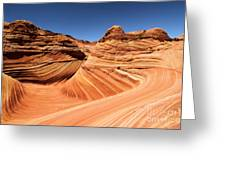 Side Wave Greeting Card