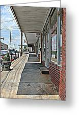 Sidewalk Greeting Card by Beverly Hammond