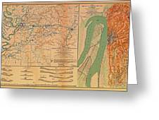 Siege Of Vicksburg 1863 Greeting Card