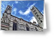 Siena Duomo Greeting Card