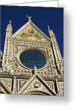 Sienna Cathedral Greeting Card by Barbara Stellwagen