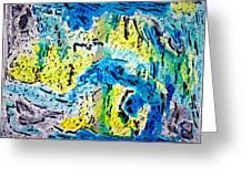 Sierra Amarilla Greeting Card