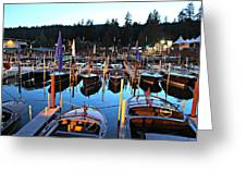 Sierra Boat Company Greeting Card