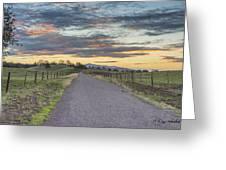 Sierra Foothills Greeting Card
