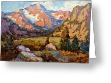 Sierra Nevada Mountains Greeting Card
