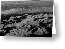 Sierra Nevada Shadows Greeting Card
