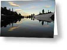 Sierra Reflection II Greeting Card