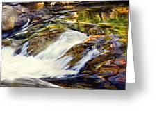 Sierra Snow Melt 2 Greeting Card