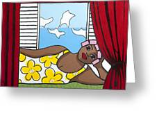 Siesta 2 Greeting Card