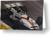 Siffert At Speed Greeting Card