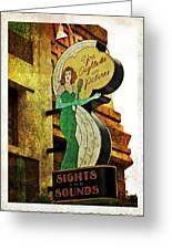 Sights And Sounds Greeting Card by Wayne Gill