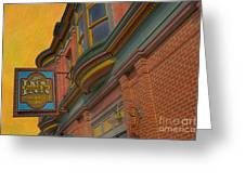 Sign - Frederick Inn Steakhouse And Lounge Greeting Card