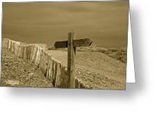 Sign Post To Nowhere 2 Greeting Card